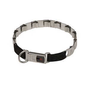 """Go Play"" Herm Sprenger Stainless Steel Neck Tech Collar without Prongs"